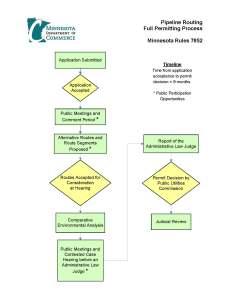 Pipeline Process